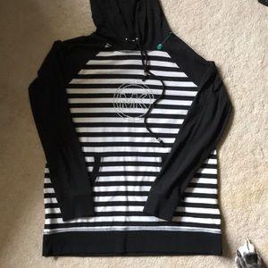 Michael Kors hooded shirt size M